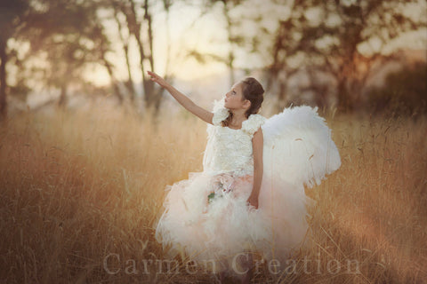 Couture Flower Girl Tutu and Top
