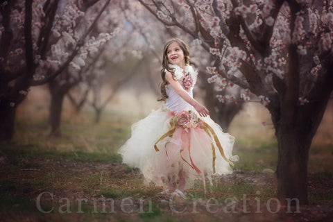 Sage Whimsical Orchard Fairy