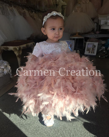 Valentina Feather Dress