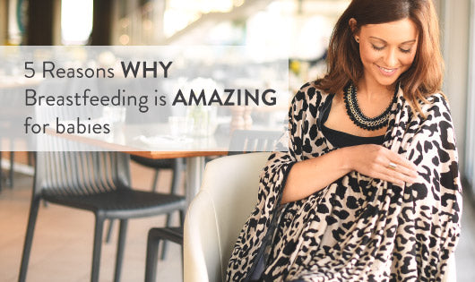 5 Reasons WHY Breastfeeding is AMAZING for babies