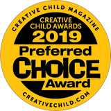 2019 Preferred Choice Award from Creative Child Magazine
