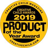 2019 Product of the year award - Creative Child Magazine - creativechild.com