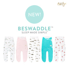 Shop our bamboo antibacterial modern constructed swaddle: BeSwaddle