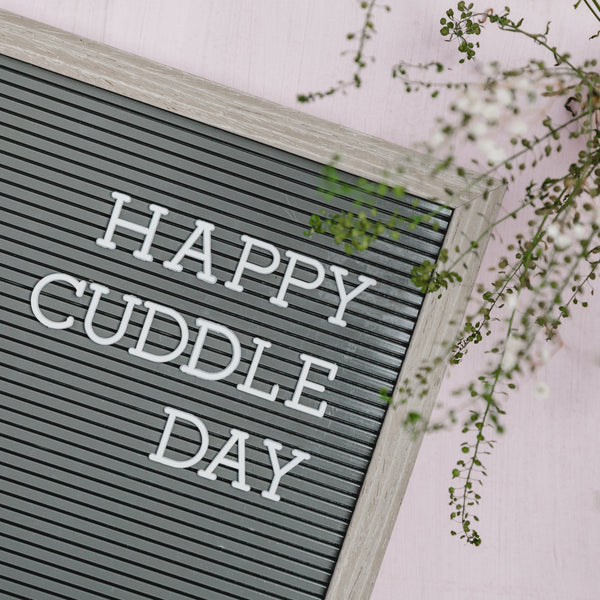 Happy Cuddle Day - Filling Up Love Tanks