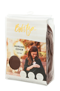 Nursing Cover - 100% Cotton - Latte