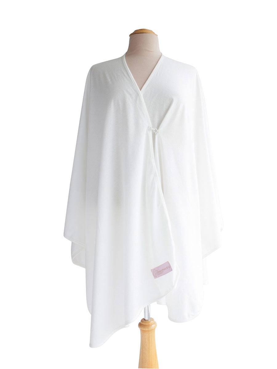 Cotton Jersey Breastfeeding Blanket - Cream