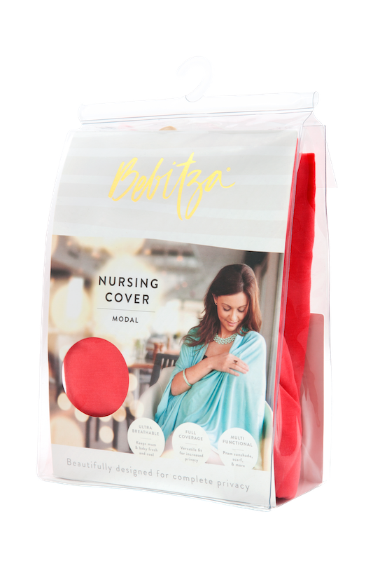 Watermelon Modal Nursing Cover