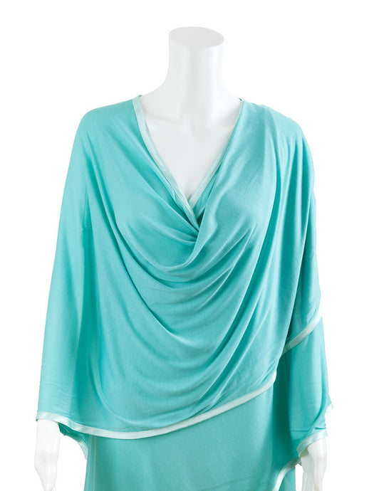 Modal Nursing Cover - Teal