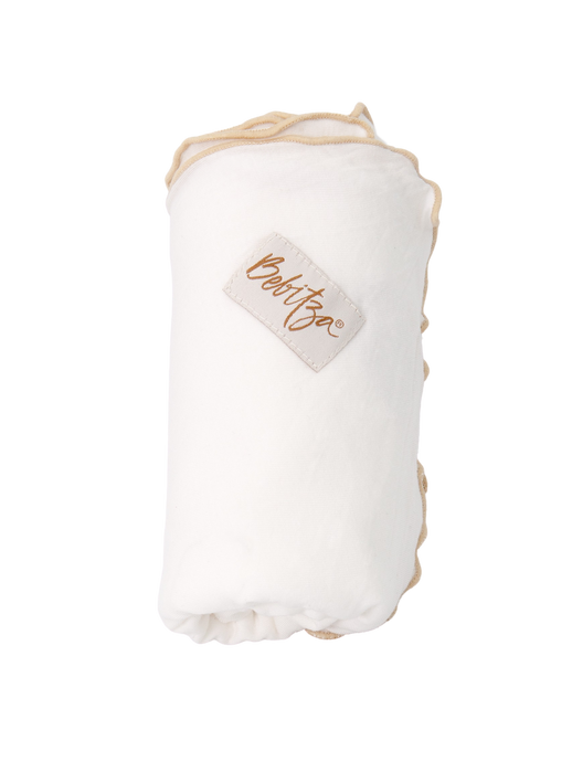 Baby Wrap - Antibacterial Bamboo - Single Pack - Cream