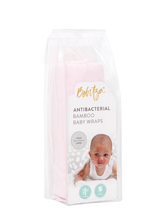 Load image into Gallery viewer, Baby Wrap - Antibacterial Bamboo - Single Pack - Light Pink
