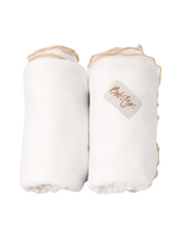 Load image into Gallery viewer, Baby Wrap - Antibacterial Bamboo - Double Pack - Cream