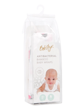 Load image into Gallery viewer, Baby Wrap - Antibacterial Bamboo - Single Pack - Bird