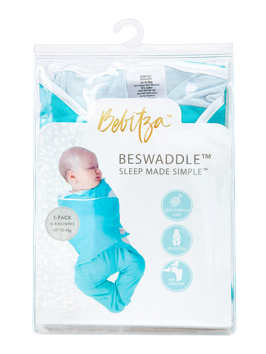 Swaddling babies is easy with the Bebitza baby swaddle