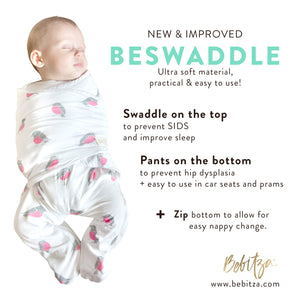 Swaddle - BeSwaddle - Light Pink