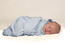 Load image into Gallery viewer, Baby Wrap (Double Pack) - Cream/Blue