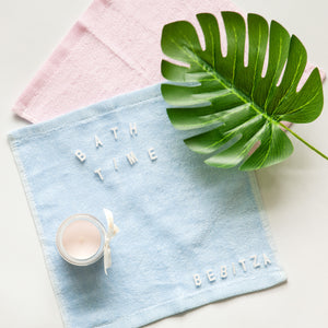 Bamboo Towel Square - Pink