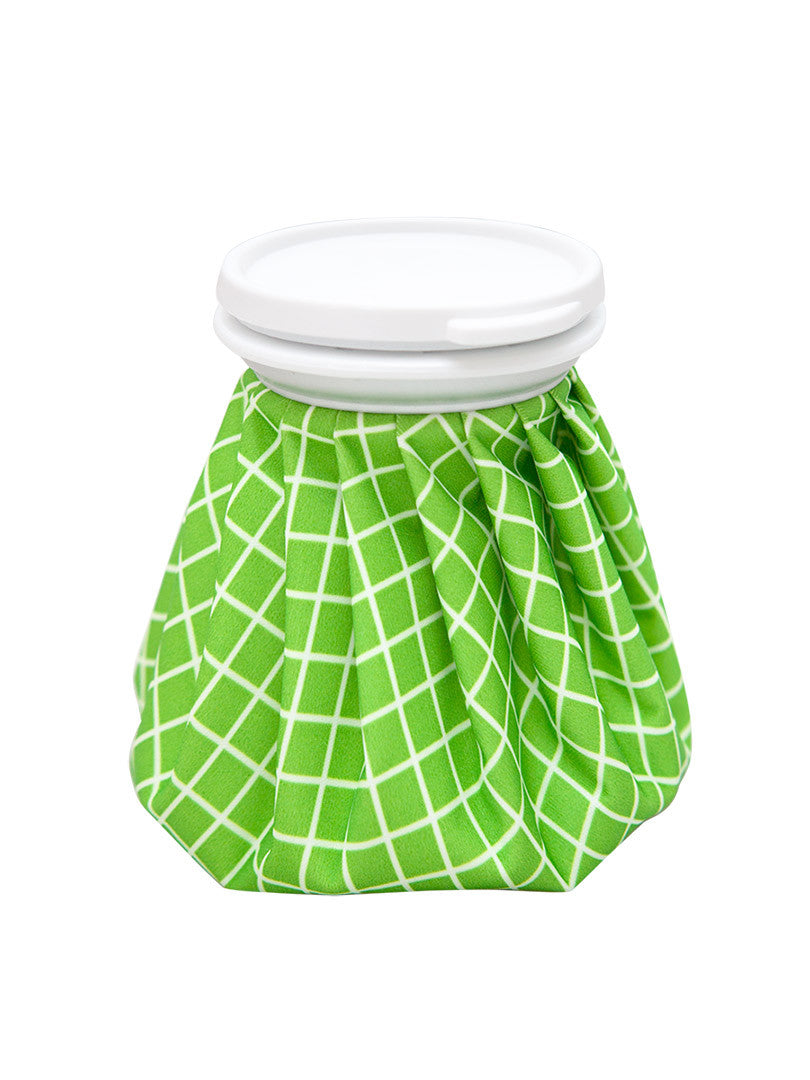 Bebitza's Ice/Hot Bag in Green with Checkers