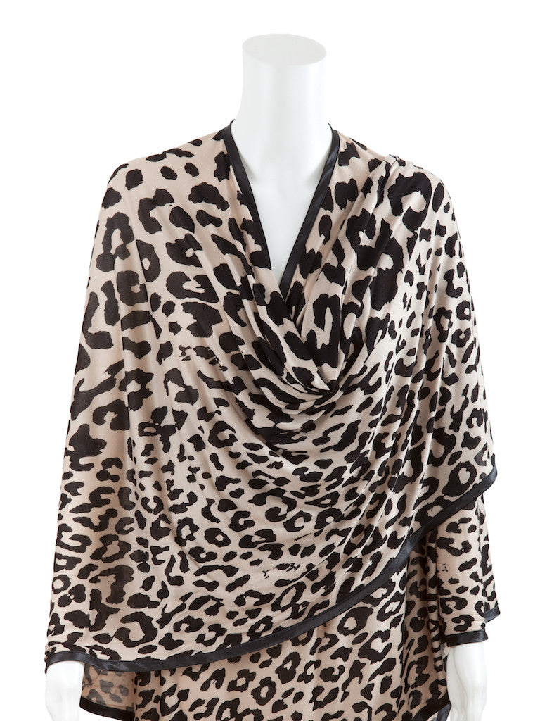Leopard Modal Nursing Cover  Nursing Cover