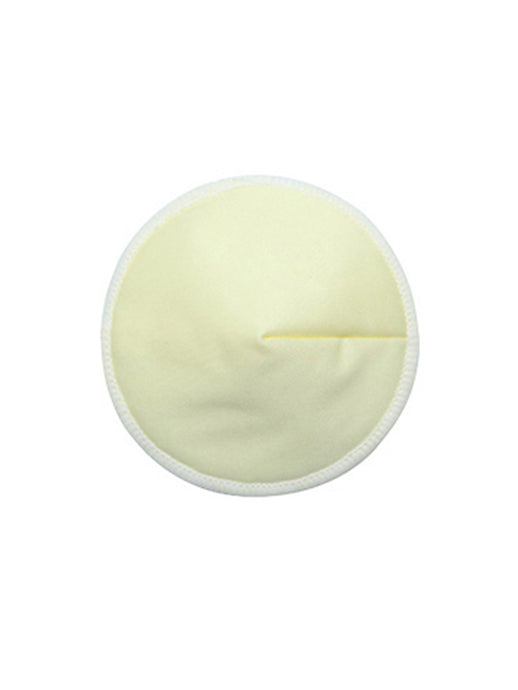 Bamboo Contoured Nursing Pads - Yellow - 1 Pair