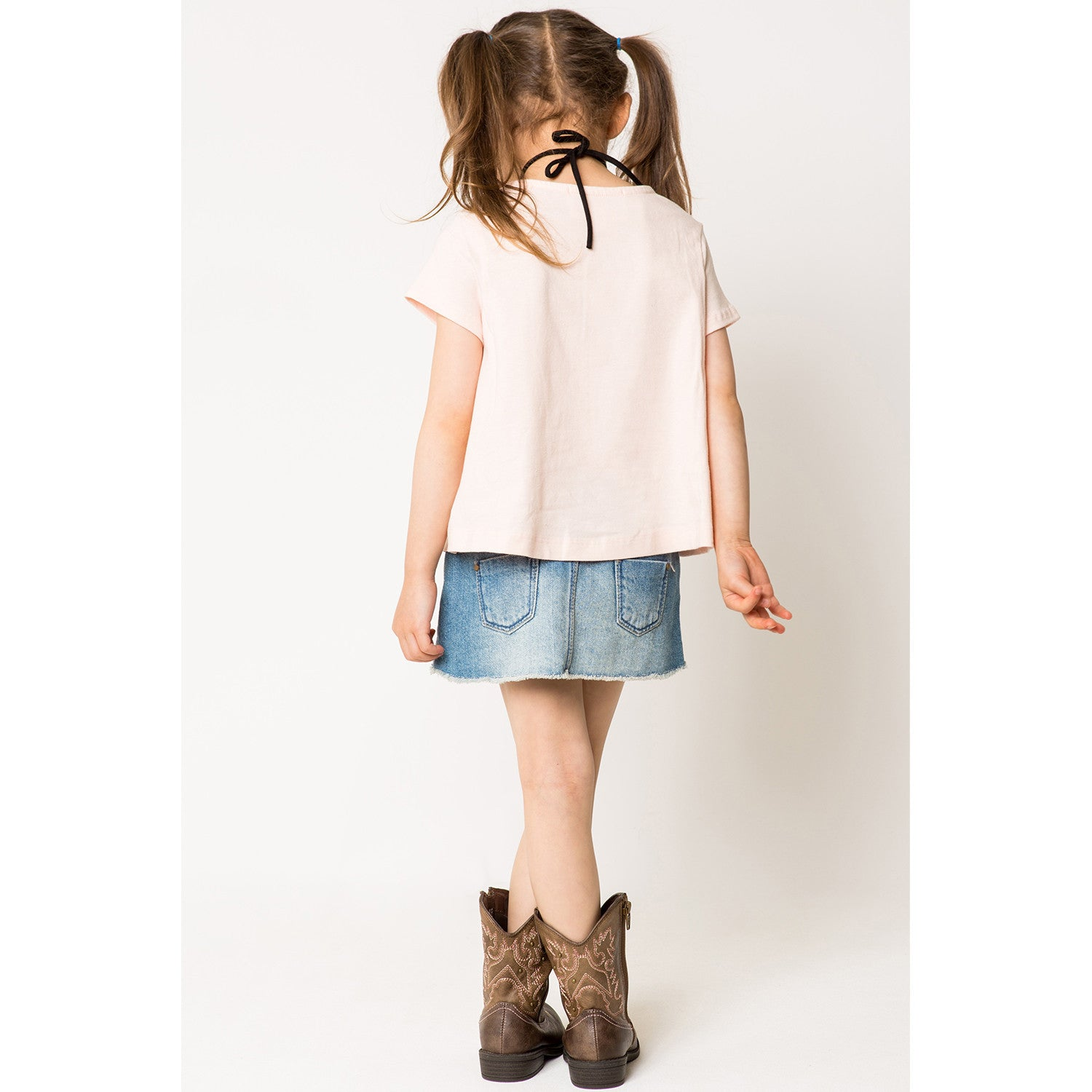 Layered Front T-Shirts for Girls