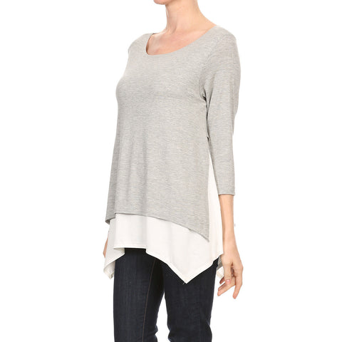 Split Side Overlay Top