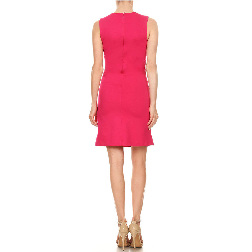 Strech Ponte Sheath Dress