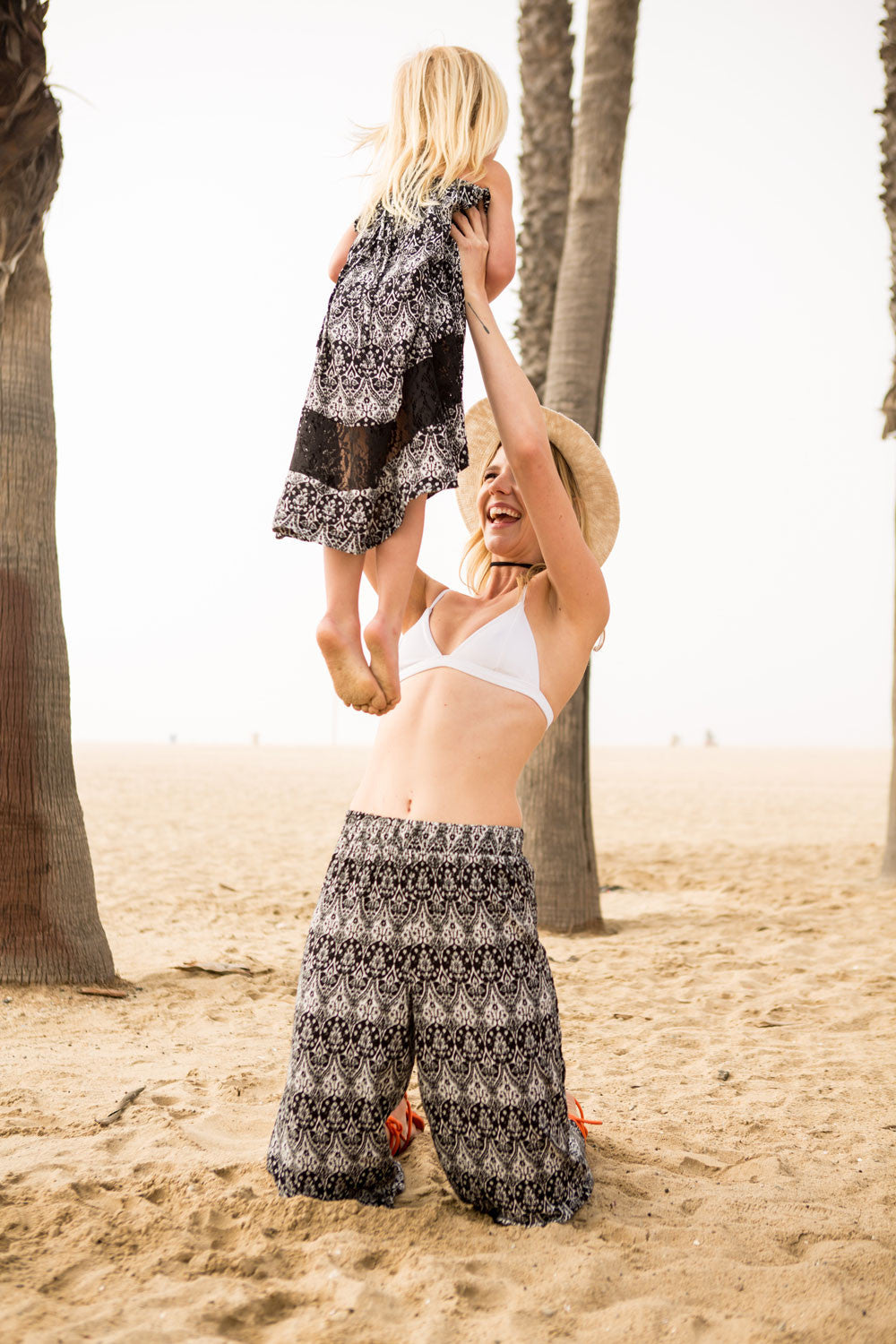 Boho Hi/Lo Strappy Dress for Girls