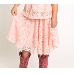Lace Flare Skirt for Girls