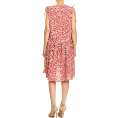 Ditsy Floral Hi/Lo Dress
