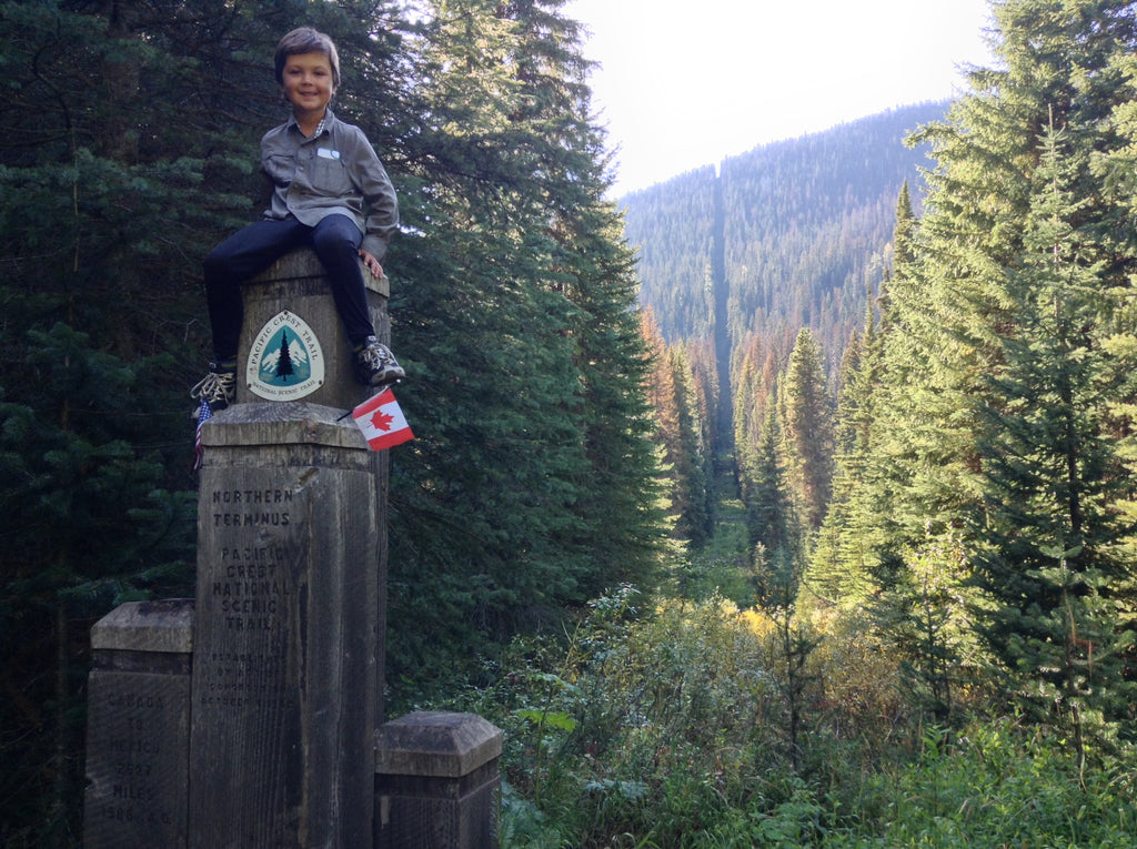 Youngest PCT Thru-Hiker