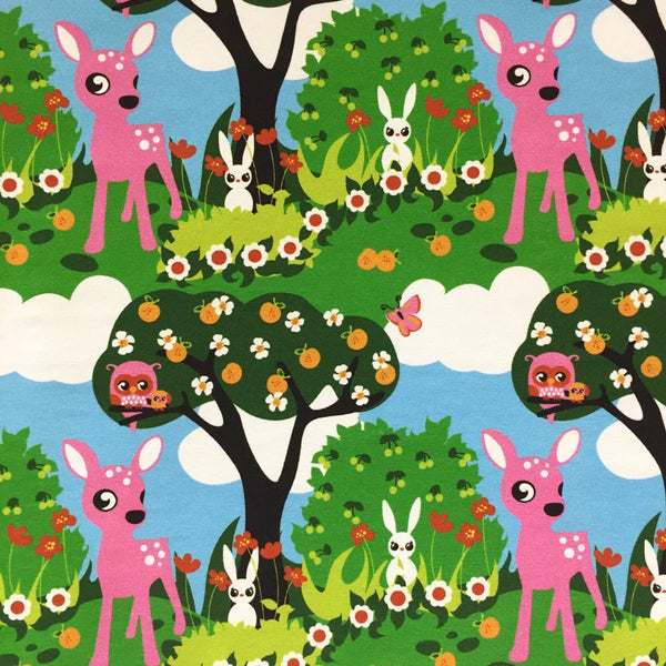 Bambi organic cotton jersey (by the half metre)