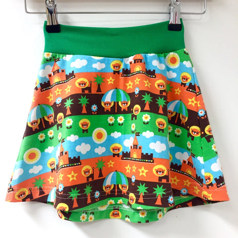 Beachlion organic tennis skirt