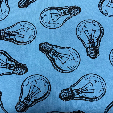 Bulb Niagara cotton sweatshirting (by the half metre)