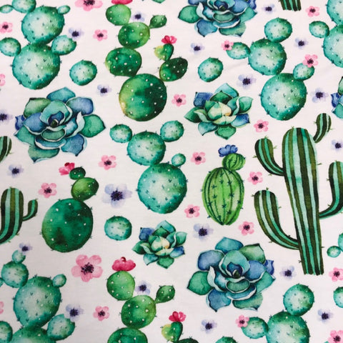 Cactus cotton jersey (by the half metre)