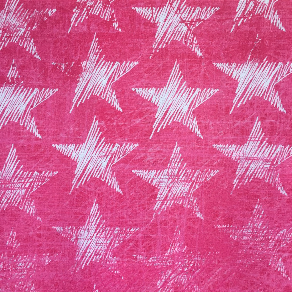 Chalk Stars cotton jersey (by the half metre)
