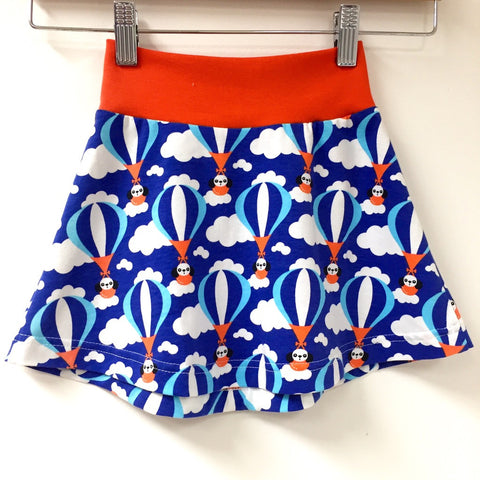 Flying Dog organic tennis skirt