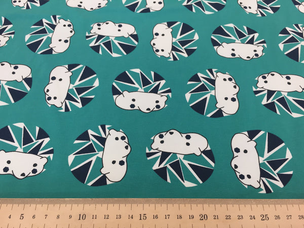 Hedgehog organic cotton jersey (by the half metre)