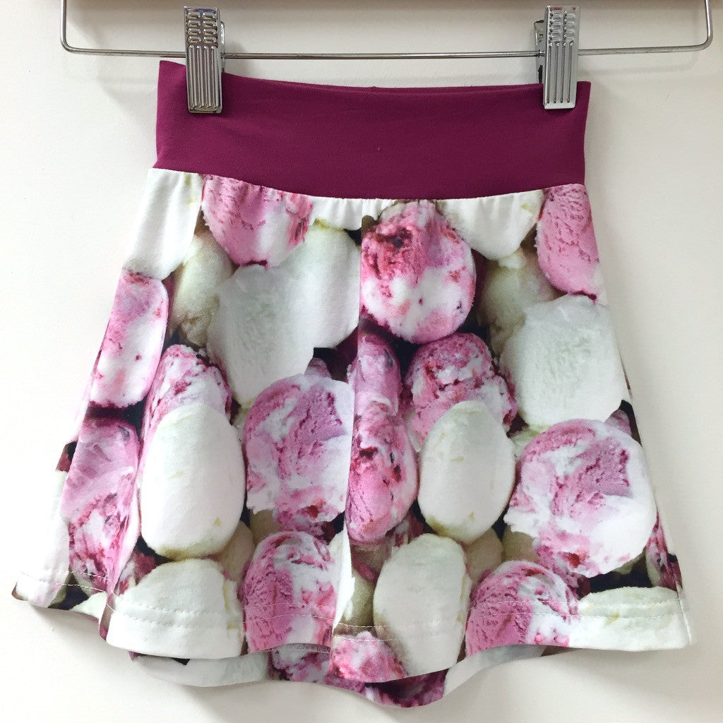 Ice Cream tennis skirt