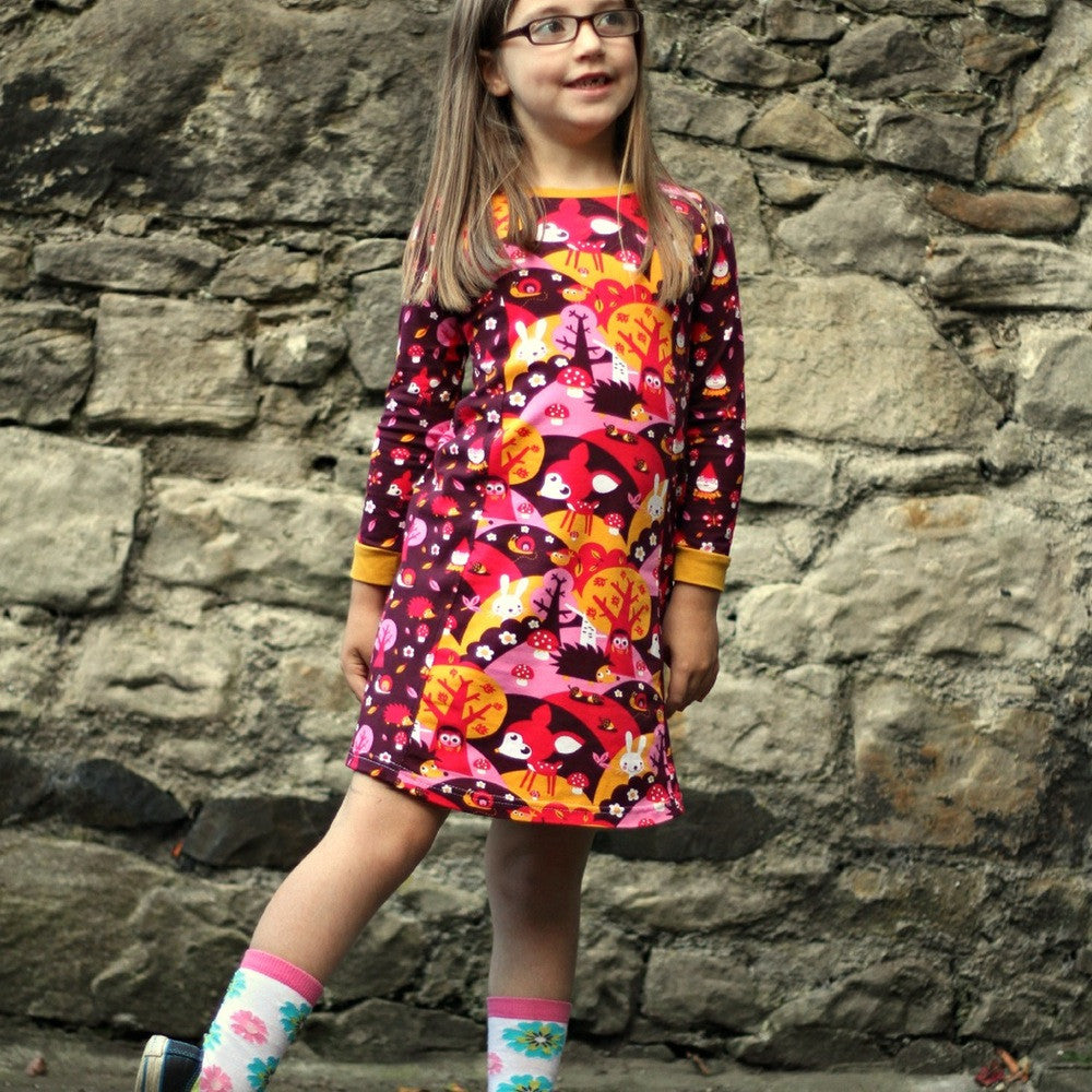 The Mini Penny Pinafore sewing pattern (6m to 10Y)- PDF