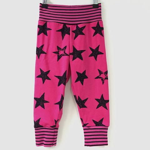 Spider Stars organic jersey slouchy trousers