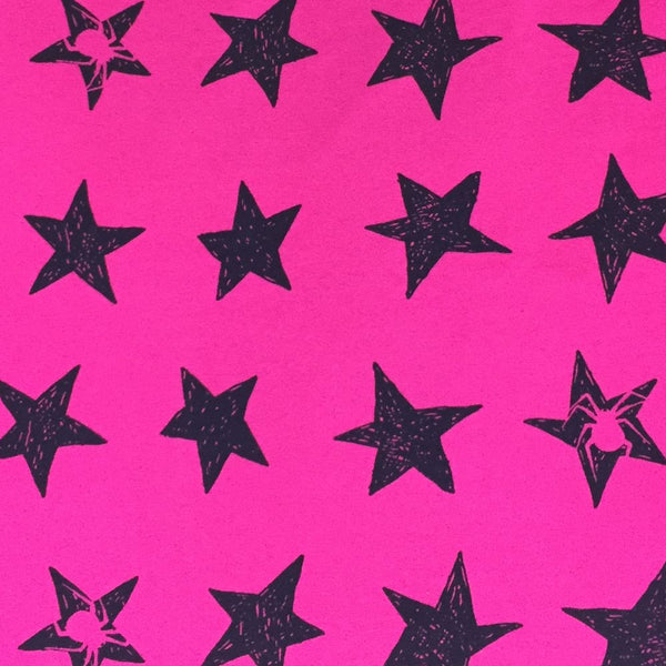 SALE Spider Stars organic cotton jersey (by the half metre)
