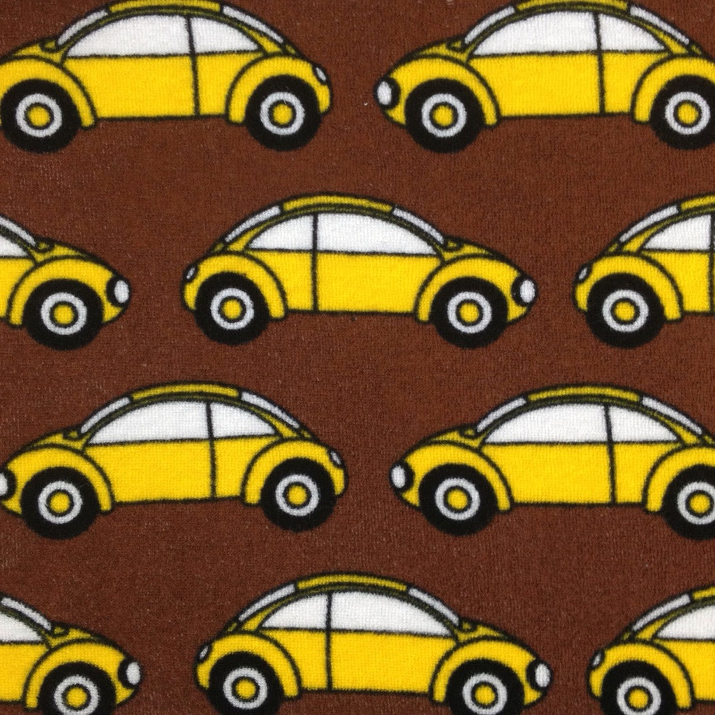 Summer Cars cotton stretch terry (by the half metre)
