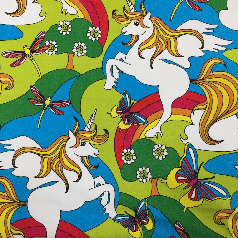 Unicorn organic cotton jersey (by the half metre)