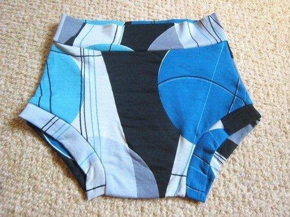 Boy cut brief unisex underwear pattern 2T/3T/4T/5Y/6Y - PDF
