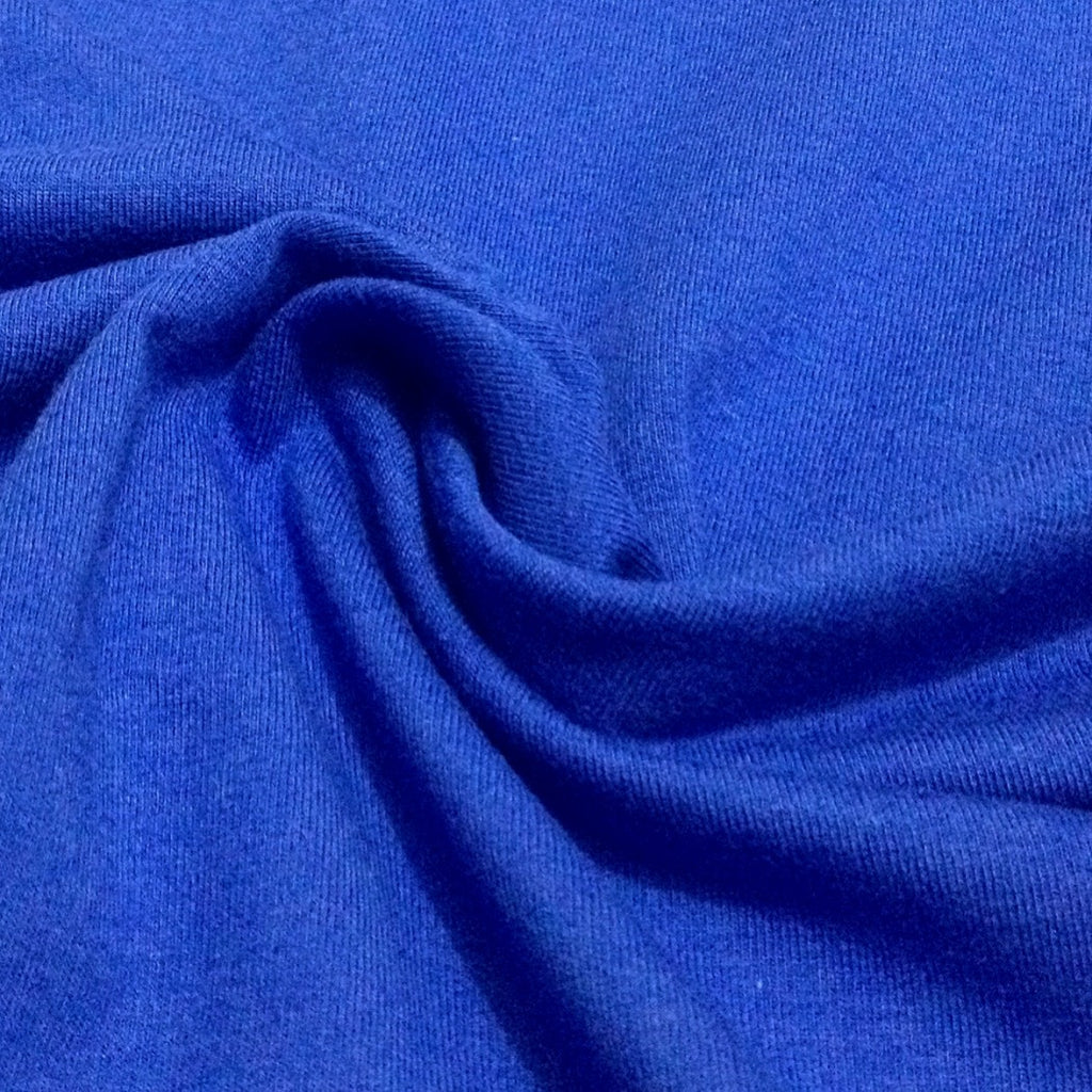 Royal Blue plain cotton jersey (by the half metre)