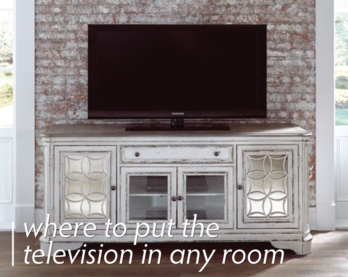 Where To Put The Television In Any Room Tv Placement In Rooms Davids Furniture Interiors
