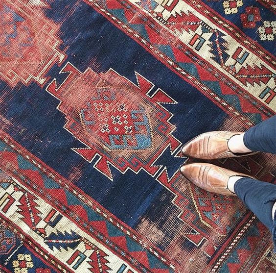 I love rugs...and shoes!