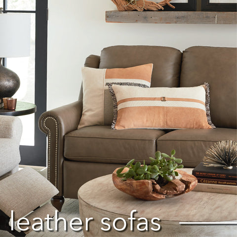 Sofas - Leather