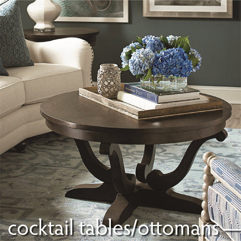 Cocktail Tables & Ottomans