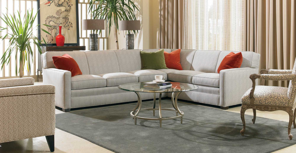 Sherrill Fabric Sofa Sectional Sherrill 9700 Series Sectional Sofa
